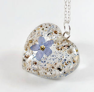 Forget me not Ashes necklace