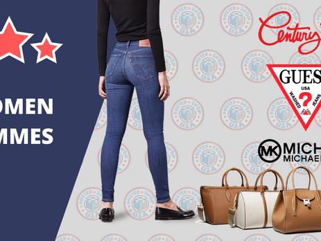 Sites de vêtements Américains pour femmes