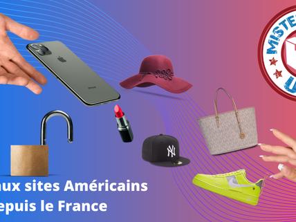 Shopping aux Etats-Unis depuis la France : Des marques moins chères