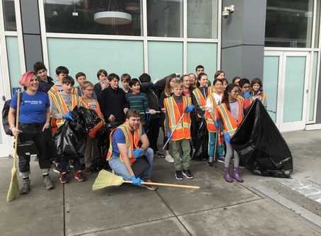 Middle School Day of Service