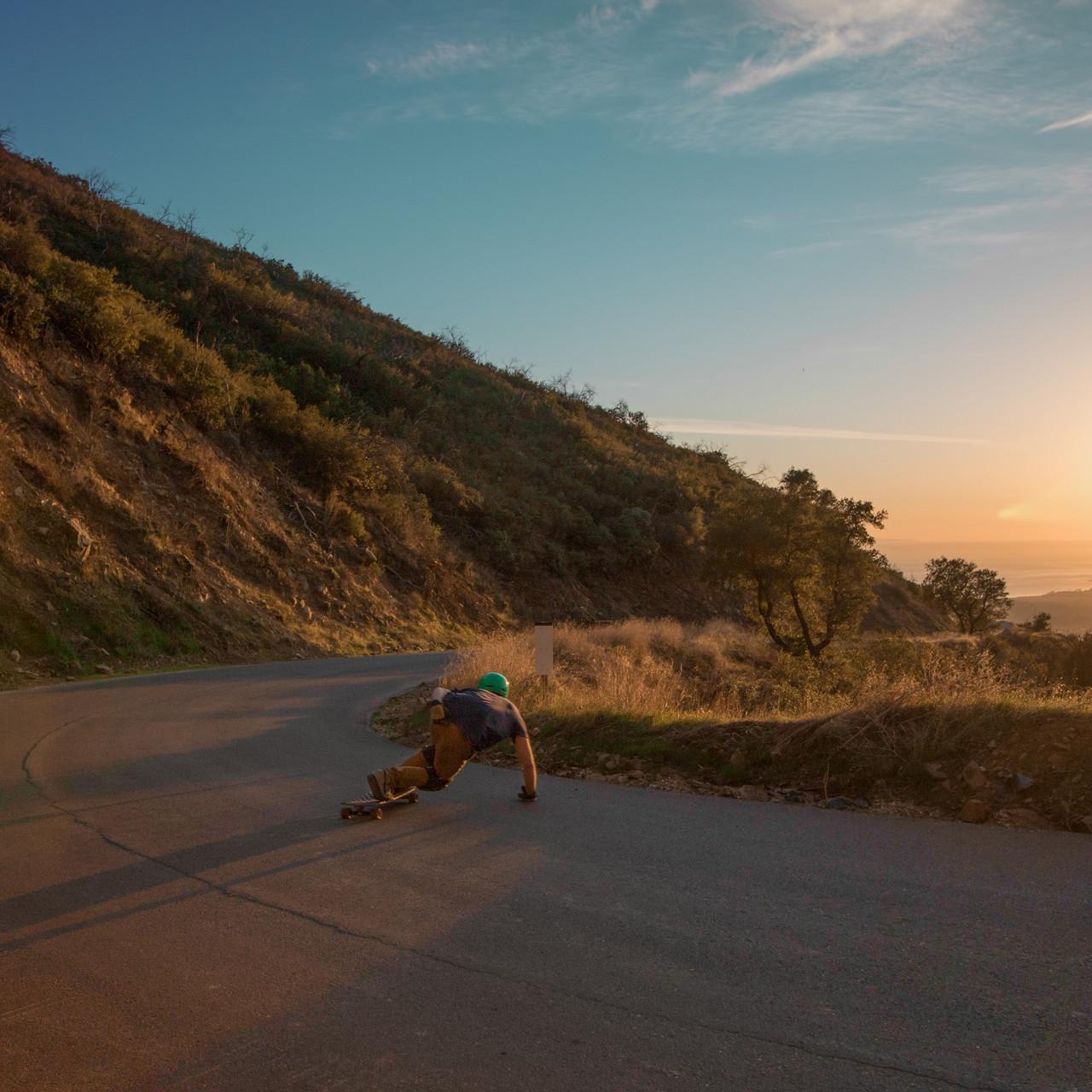 Grayson at Sunset
