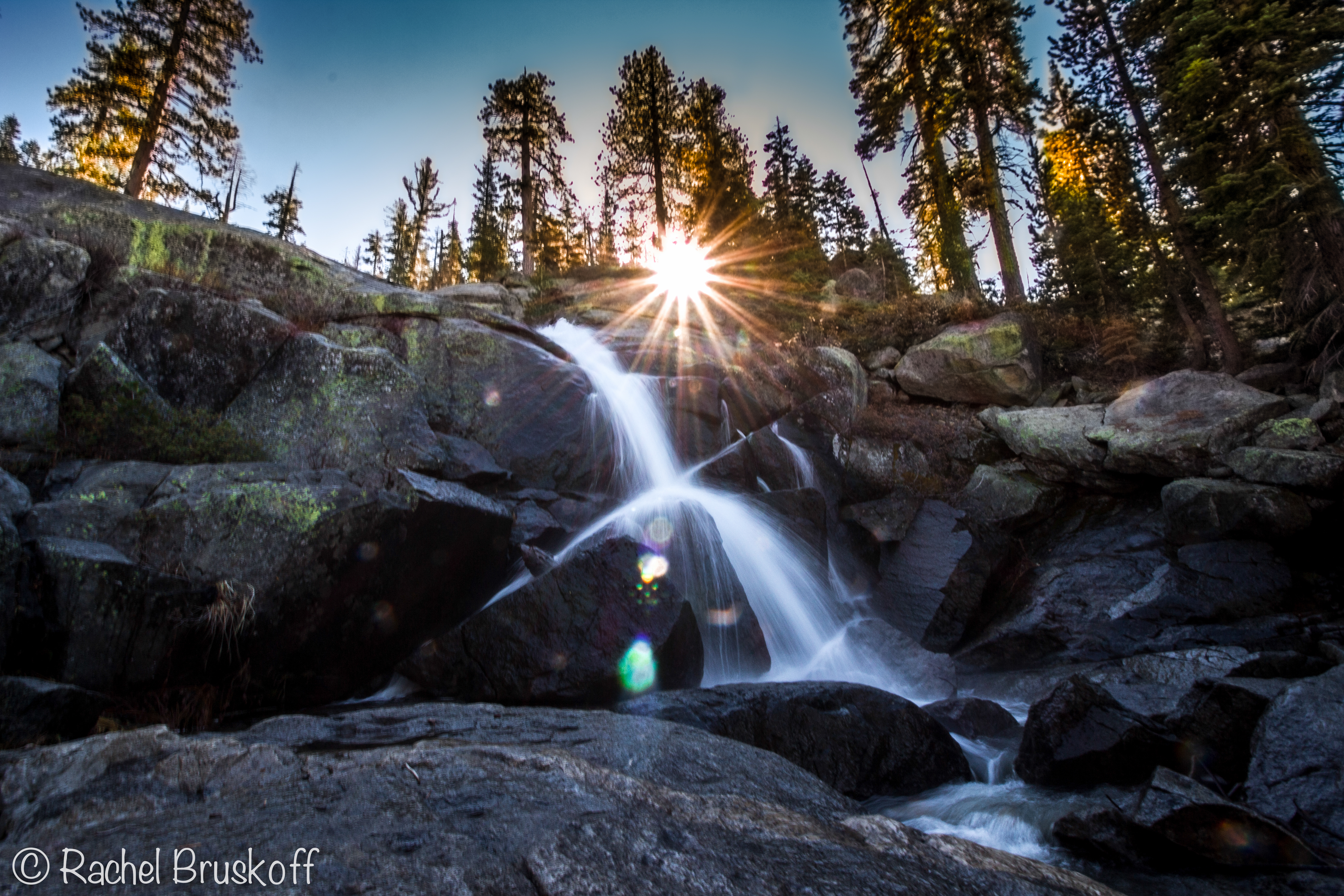 yosemite waterfall hor-7053