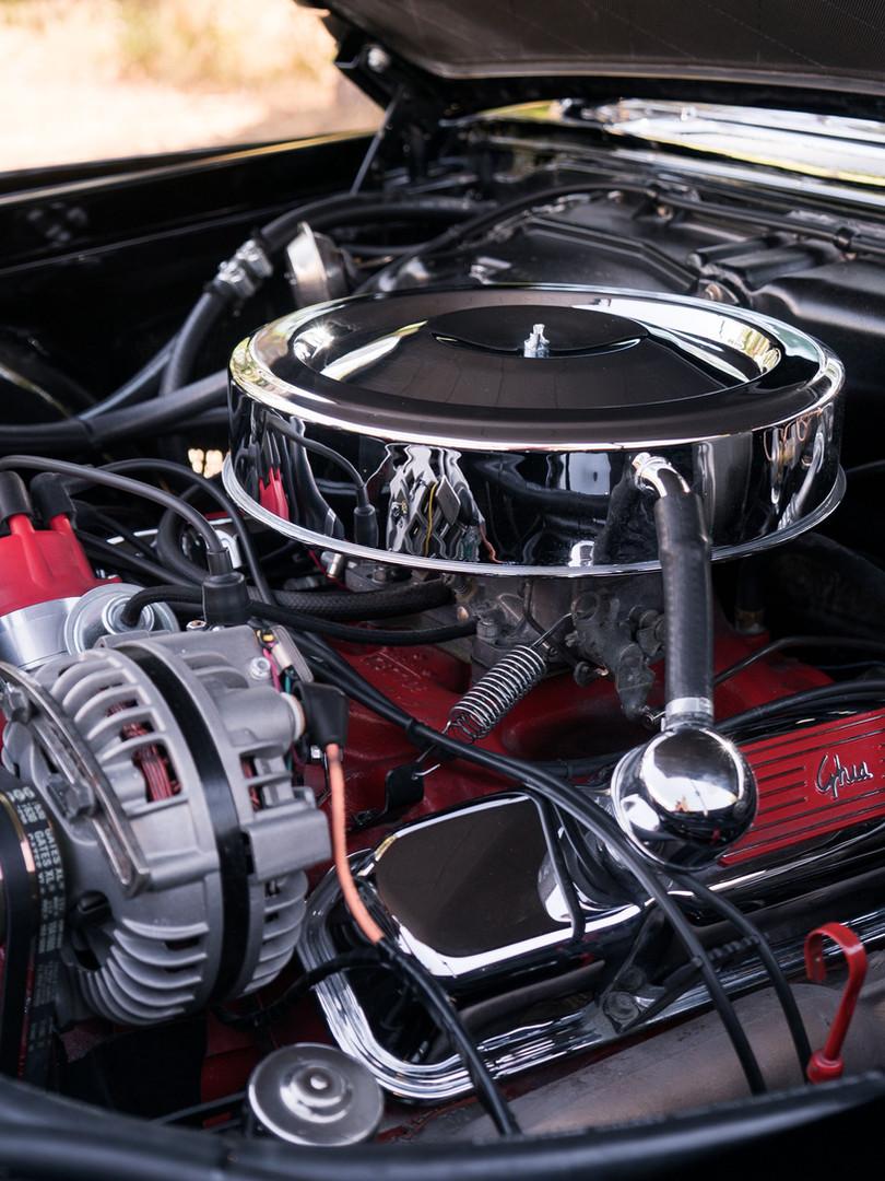 1961 Dual-Ghia L6.4 Engine bay