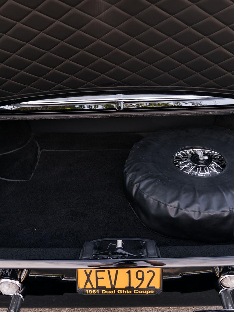 1961 Dual-Ghia L6.4 Trunk
