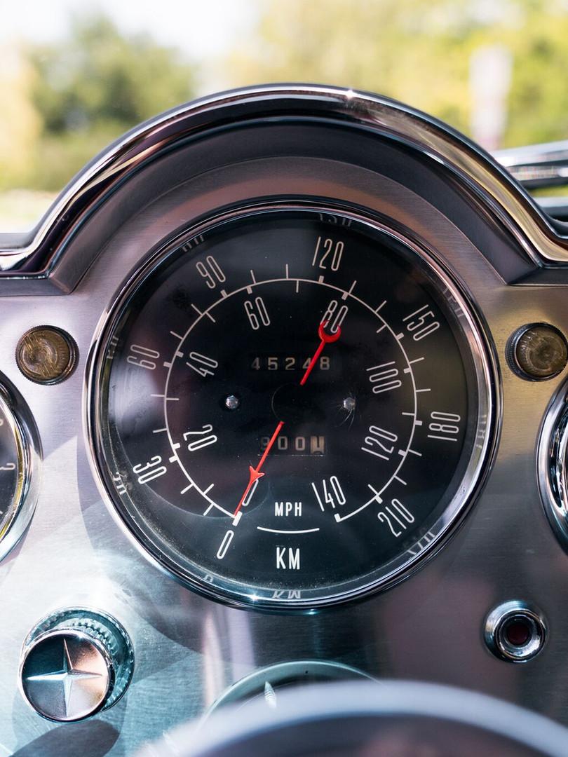 1961 Dual-Ghia L6.4 Gauges