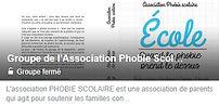 Groupe des parents APS Phobie scolaire