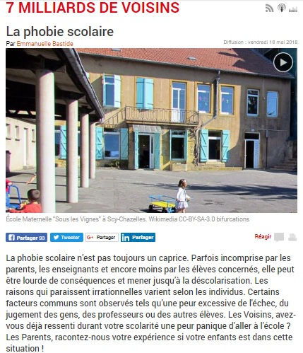 Interview Laelia Benoit APS Association Phobie Scolaire