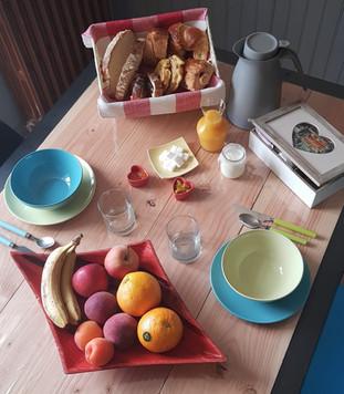 Le Petit Déjeuner Continental.
