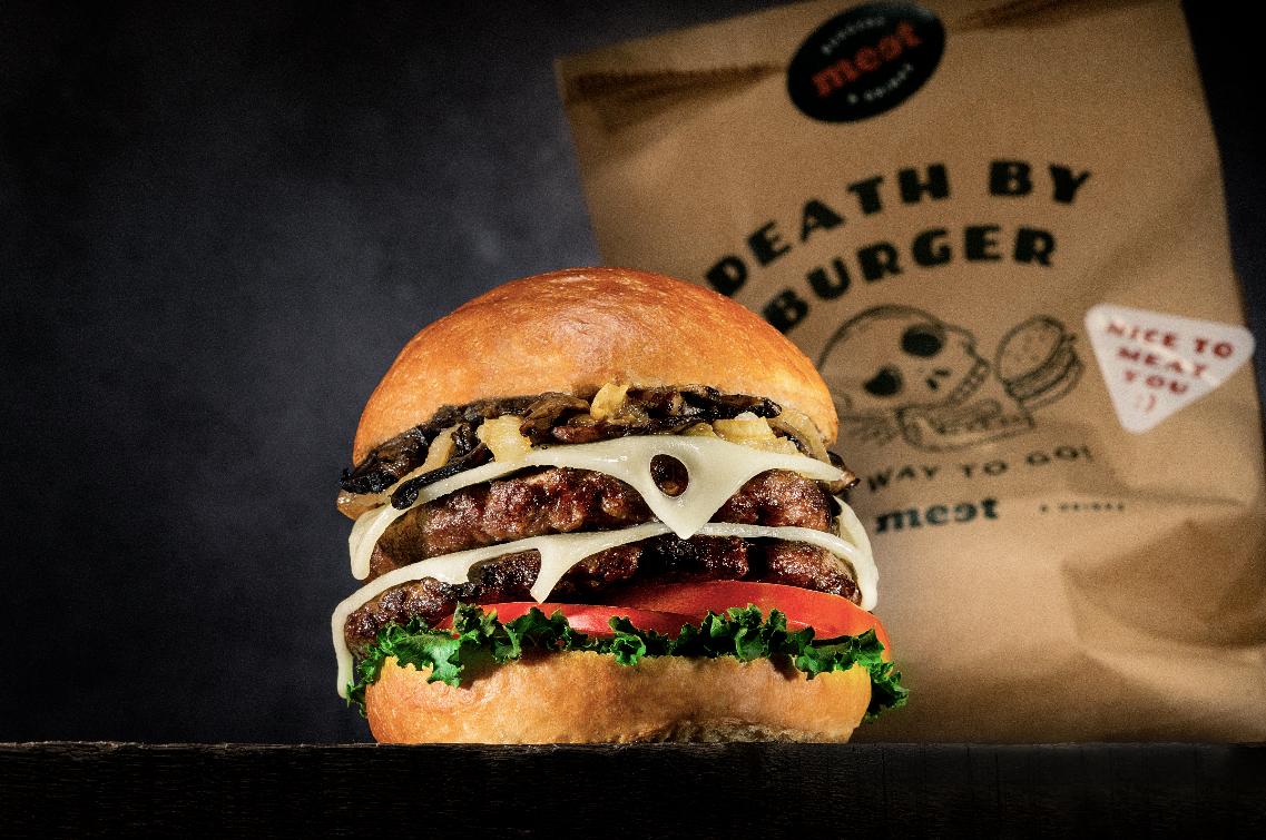 Foodstyling: La tajadita Meet Burger