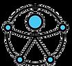 Símbolo de Acessibilidade da ONU figura humana com duas pernas e dois braços abertos em um circulo