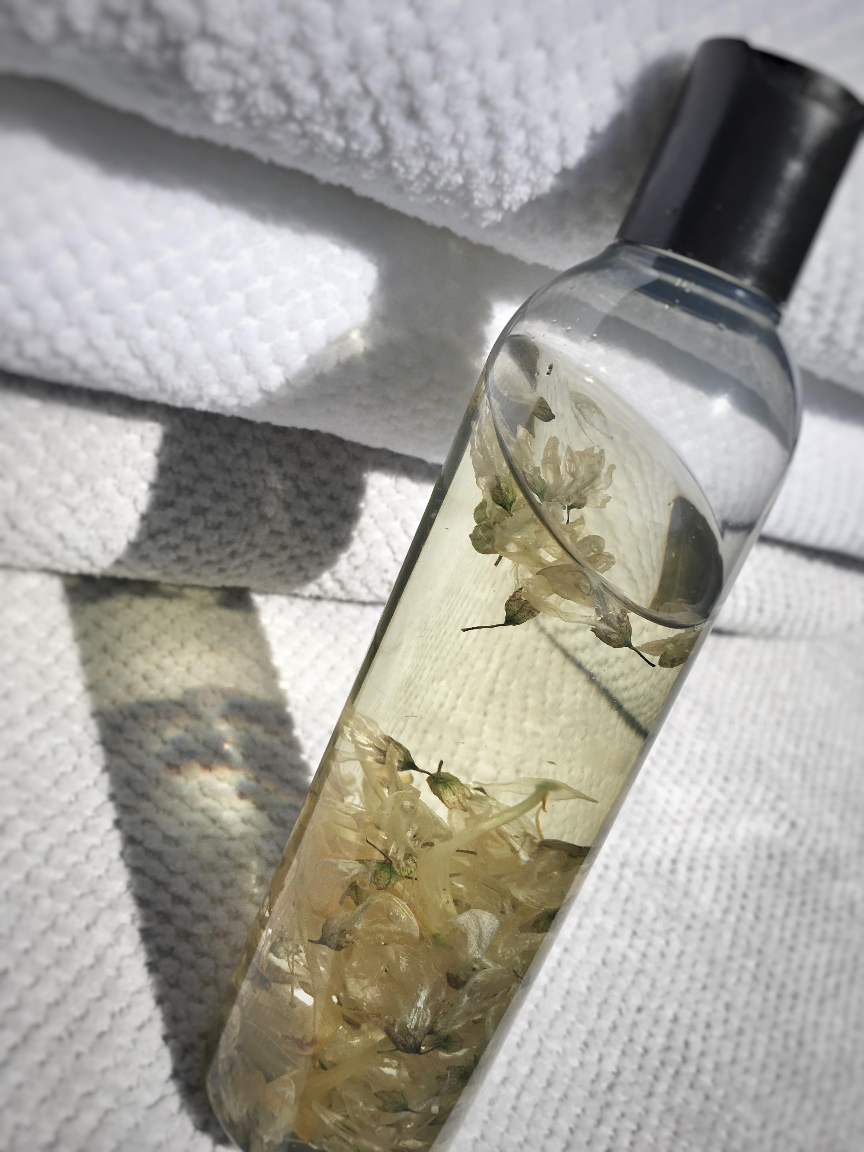 Verse bos olie