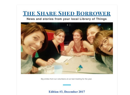 The Share Shed Borrower #3