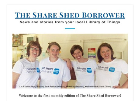 The Share Shed Borrower #1