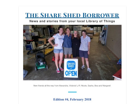 The Share Shed Borrower #4