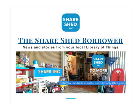 The Share Shed Borrower #9