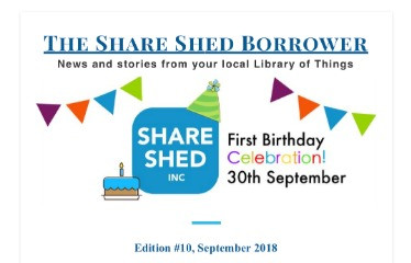The Share Shed Borrower #10
