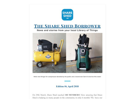 The Share Shed Borrower #6