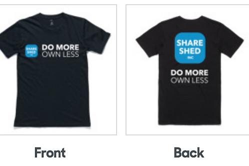 Men's Regular Logo T-Shirt - Black or White