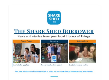 The Share Shed Borrower #7