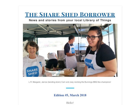 The Share Shed Borrower #5