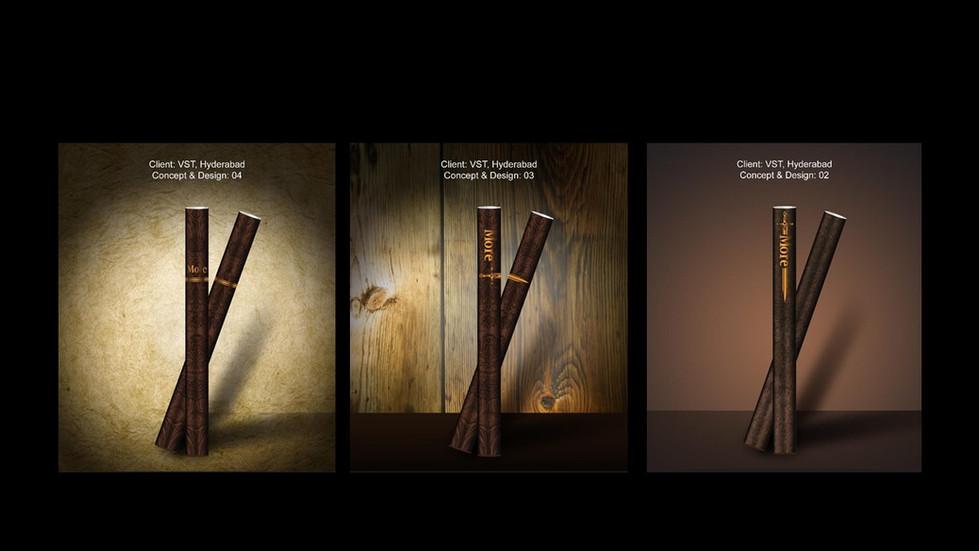 3D Illustration - Cigarette Stick Design