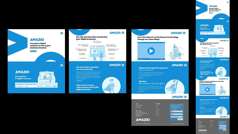 Website prototypes