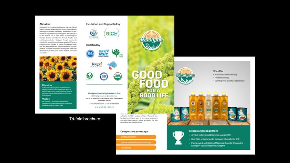 Khadyam Brochures