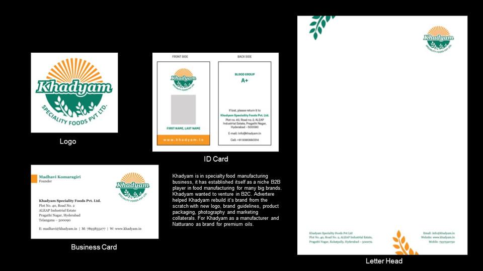 Khadyam Brand Identity