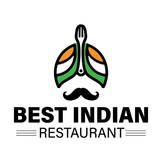 Best Indian Restaurant Logo