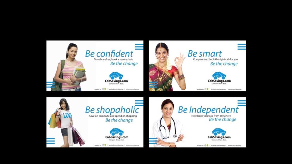 CabSavings Social Media Ad Campaign
