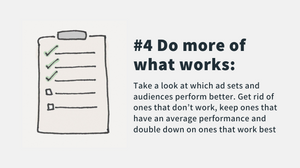 do more of what works for your facebook and instagram ads