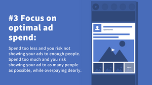what is the optimal ad budget for facebook instagram ads