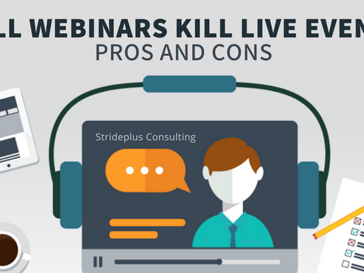 Will webinars kill live events, and what they are? All you need to know