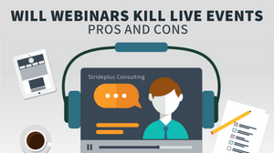 what is a webinar pros and cons