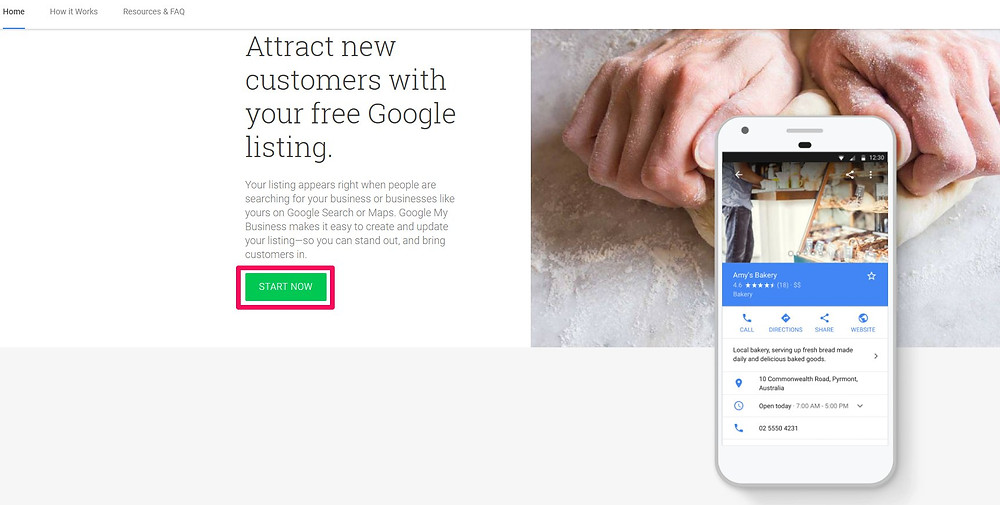 how to create a google my business account