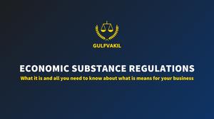 esr economic substance regulations uae dubai