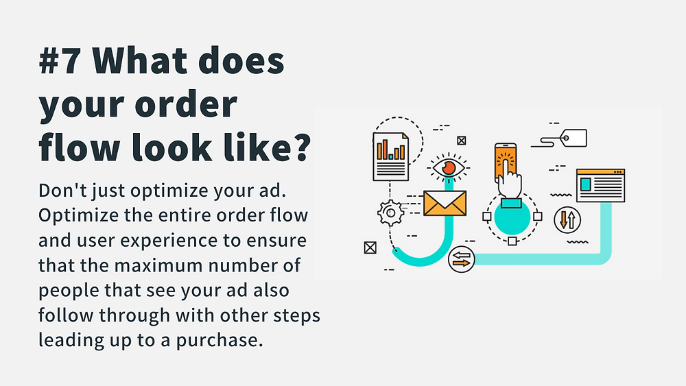 optimize your ecommerce order flow and user experience for facebook ads