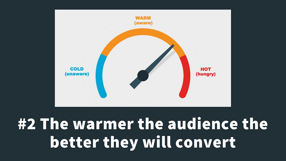 the importance of warm audiences for your facebook ads