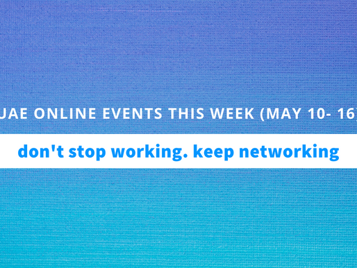 UAE Online Business Events this Week (May 10 to 16, 2020)