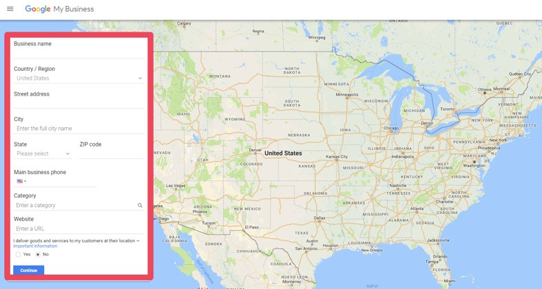 how to find and verify business listing in google my business