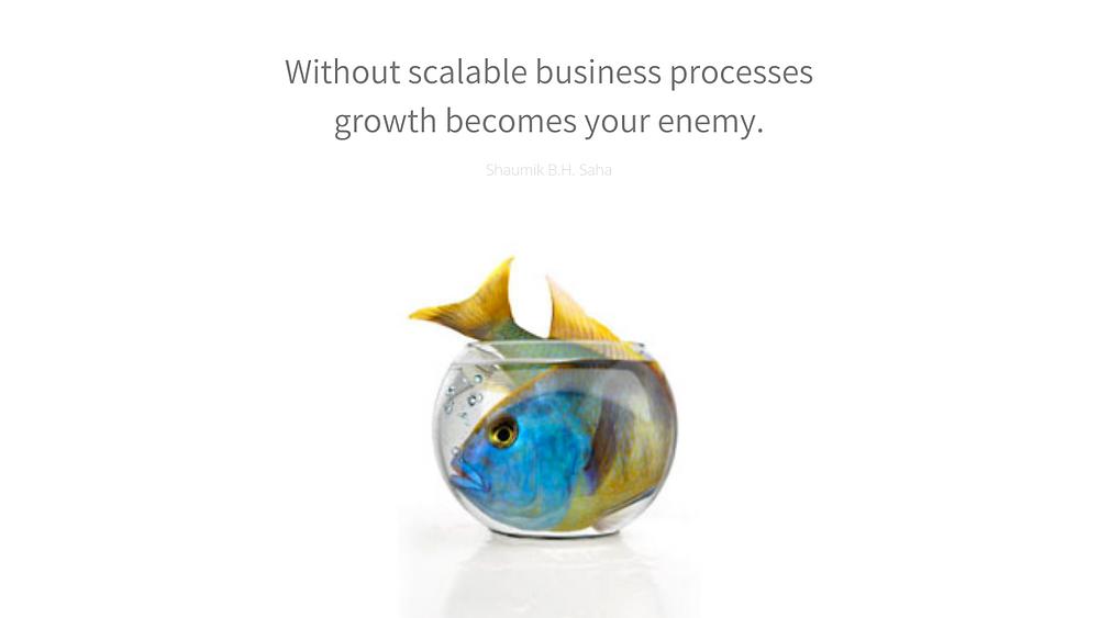 shaumik saha scalability quotes