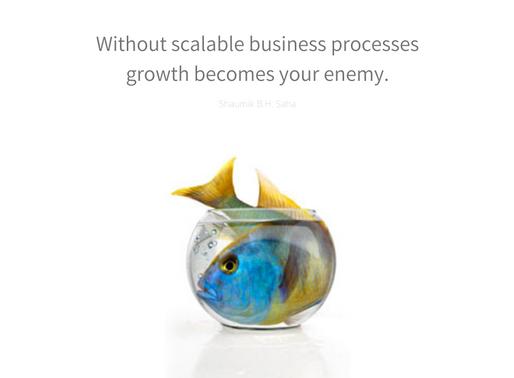 Shaumik Saha: The Importance of Scalability