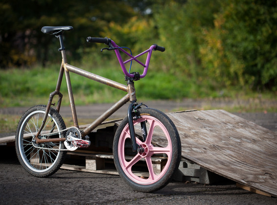 Modded BMX Minivelo.