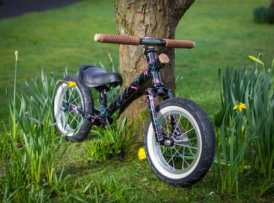 Custom built balance bike.