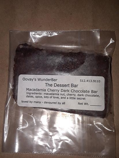Macadamia Nut, Cherry & Dark Chocolate Bar
