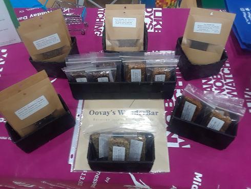 Oovay's WunderBar w wholesale packaging.
