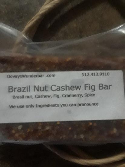 Brazil Nut Blueberry Cashew Fig  Bar