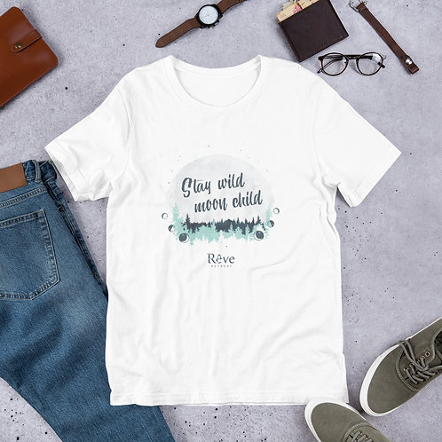Stay Wild Moon Child - Short-Sleeve Unisex T-Shirt