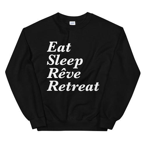 Eat, Sleep, Reve, Retreat - Unisex Sweatshirt