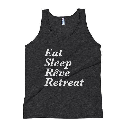 Eat, Sleep, Reve Retreat - Unisex Tank Top